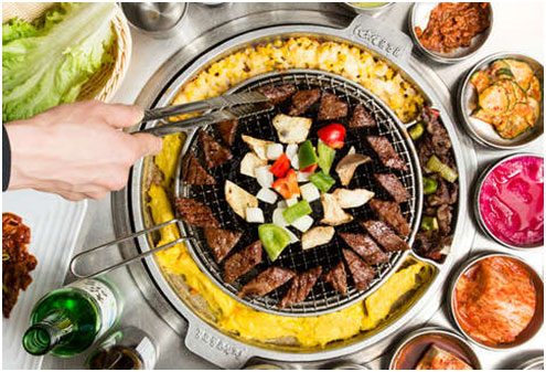 All About Eating the Korean BBQ
