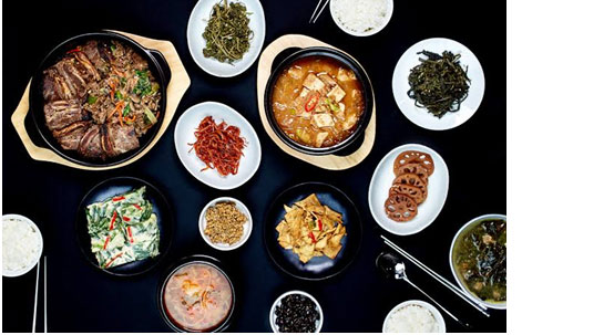 Traditional Korean Food is Known for the Flavors